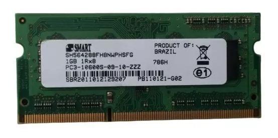 Memoria Smart 1gb Pc3-10600s-09-10-zzz