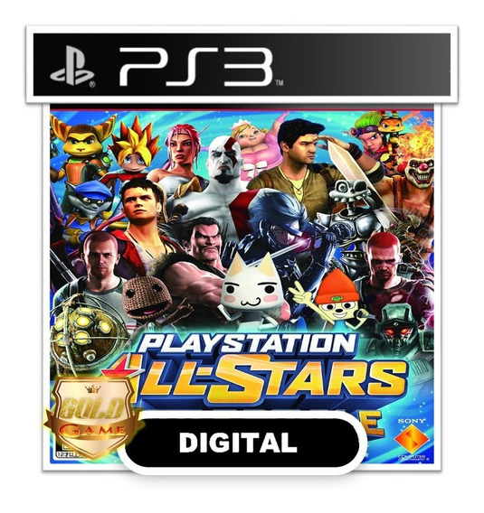 All Star Battle Royale Ps3 Psn Mídia Digital Envio Rapido