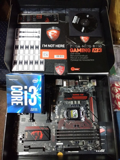 Pack Msi Msi Z170a + I3 6100 Usados Impecable + 16 Ram Nueva