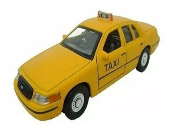 Taxi Ford Welly 1.36 Amoamisjuguetes