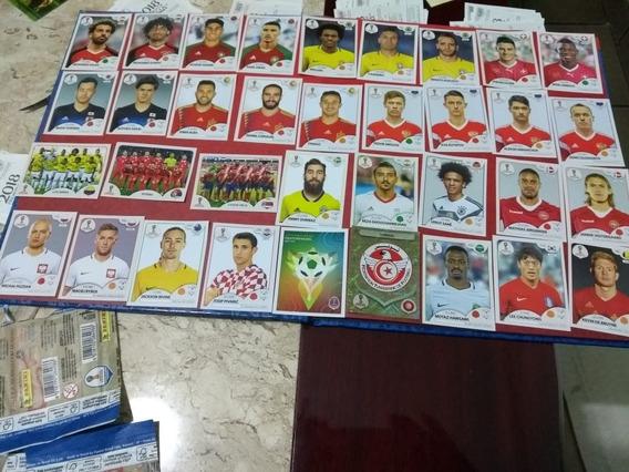 Kit Figurinhas Copa 2018 Originais - A Partir De 2,50