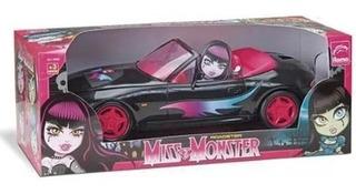 Carrinho Miss Monster 34cm Roma
