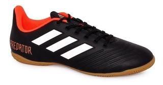 Tênis Futsal adidas Predator Tango 18.4 Preto/vermelho