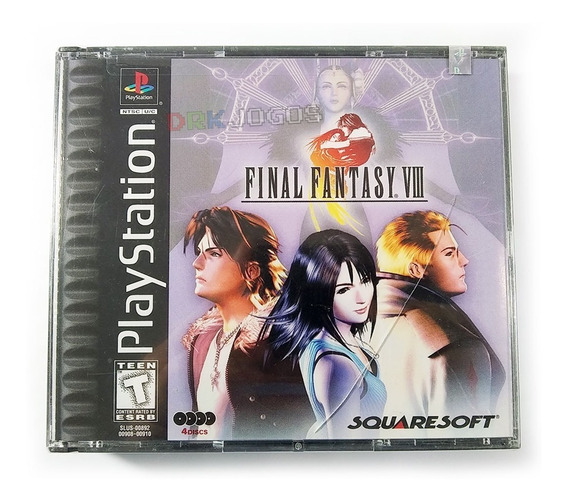 Final Fantasy Viii 8 Original Lacrado Americano Sem Juros