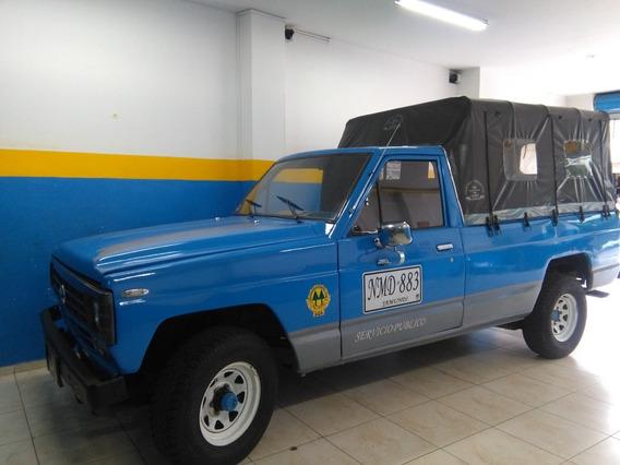 Campero Publico Nissan Patrol Alargado Con Ruta
