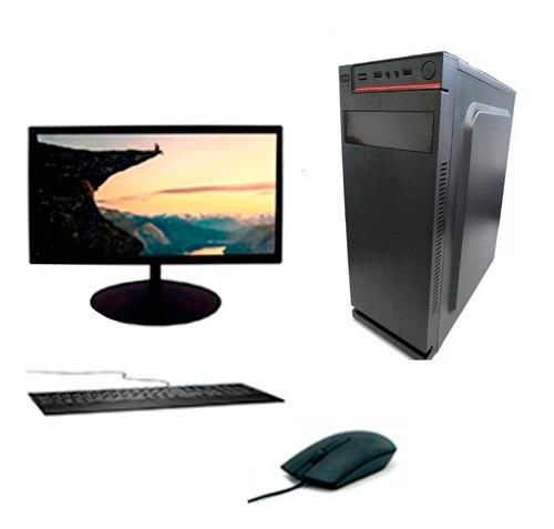 Computador Completo Atx I3 4gb Ddr3 - Hd Ssd 120gb
