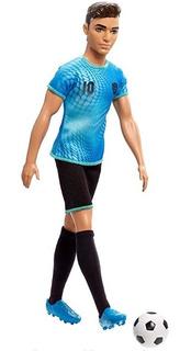 Barbie Ken Futbolero Con Medias Y Guayos