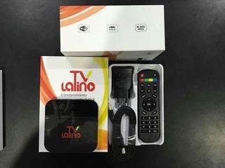 Decodificador Iptv Smart Box Tv Latino 4k Wifi