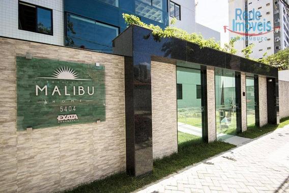 Flat Com 1 Dormitório Para Alugar, 37 M² Por R$ 1.500,00/mês - Candeias - Jaboatão Dos Guararapes/pe - Fl0029
