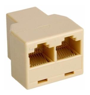 Splitter Rj45, Duplicador Para Conexión De Red
