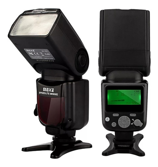 Flash Universal Meike Mk930ii Para Canon, Nikon, Pentax