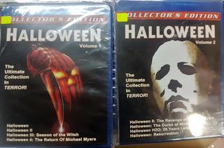 Halloween Coleccion Completa Blu Ray Latino