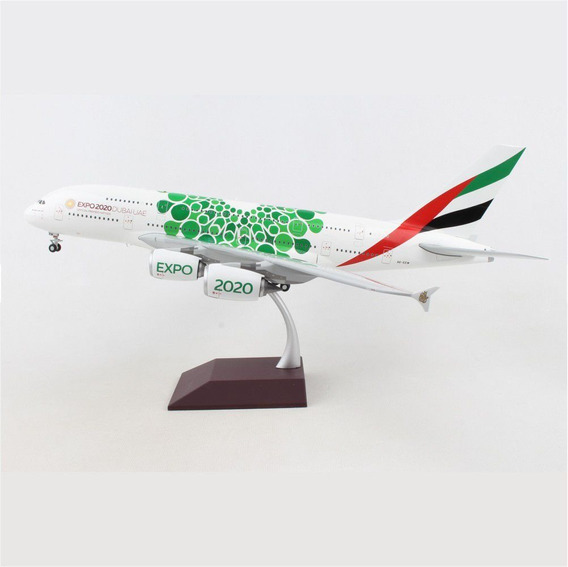 Miniatura Avião Emirates A380 Expo 2020 1/200 Gemini Jets