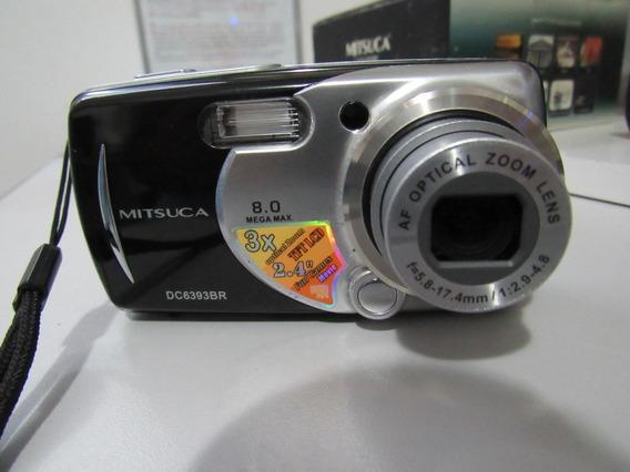 Câmera Digital Mitsuca Semi-nova Com Manual E Cd P/ Instalar