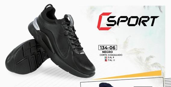 Tenis Negro 134-06 Cklass Primavera-verano 2020