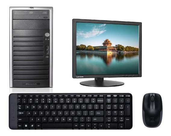 Computadora Hp Proliant Ml110 Intel 2gb 160gb Monitor Mdj