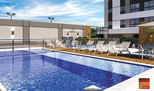 Apartamento À Venda, 57 M² Por R$ 309.000,00 - Veraliz - Londrina/pr - Ap1490