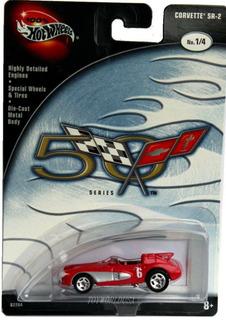 Hotwheels Serie 50th Corvette Sr2 #1 2002 Goma