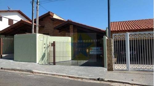 Casa À Venda Em Atibaia - Bairro Alvinópolis - Ca0044