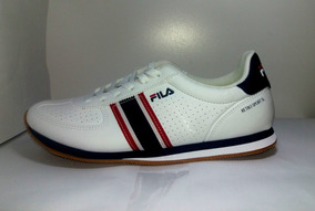 Tenis Fila Masculino Footwear Retro Sport - Black/red/navy