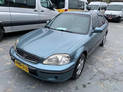 Honda Civic 1999 Sedan Lx Automático Completo Raridade