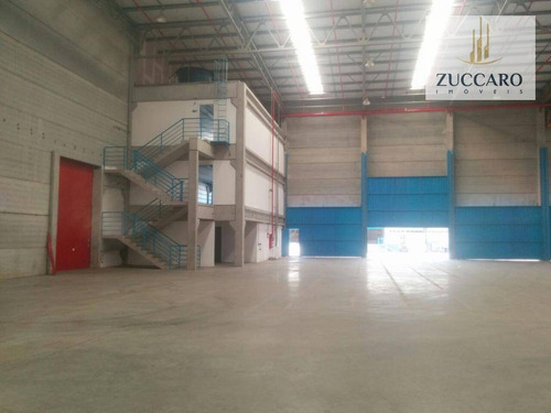 Galpão  Industrial Para Locação Em Condomínio, Perová, Arujá. - Ga1042