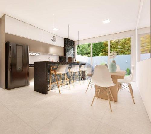 Imagem 1 de 10 de Casa Com 3 Dormitórios À Venda, 140 M² Por R$ 600.000,00 - Santana - Araçatuba/sp - Ca1818