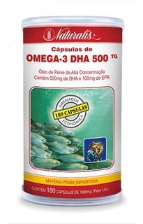 Omega-3 Dha 500 1000 Mg. 180 Caps. 100 % Tg. Naturalis