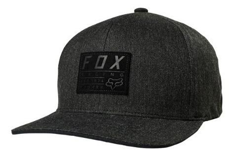 Gorra Trdmrk 110 Snapback Gris Oscuro Moto Fox Ajustable