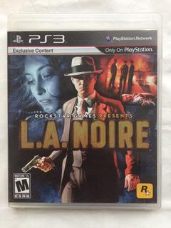 L.a. Noire Ps3 Envíos Todo Chile