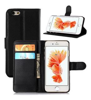 Funda Tipo Cartera Flip Para Apple iPhone 6 Plus 6s Plus