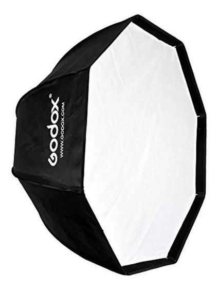 Octabox Tipo Sombrinha 95cm Universal Continua/flash/tocha