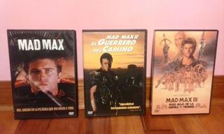 Dvd Original, Mad Max 1,2,3 /coleccion Completa