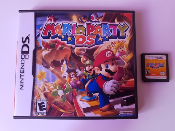 Mario Party Ds Original Americano Com Caixa Mario Party Nds
