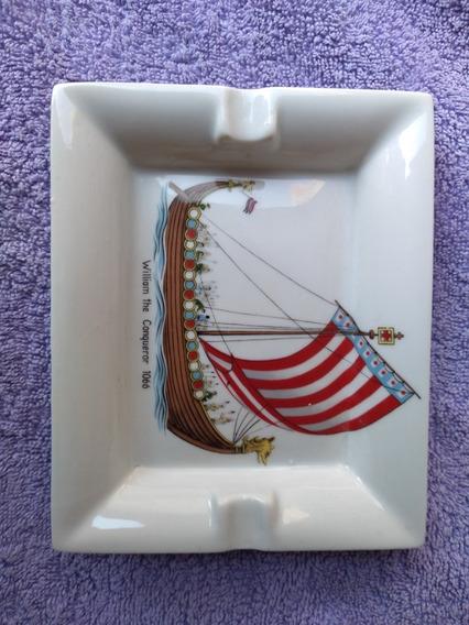 Cenicero Porcelana Dresden - Década Del