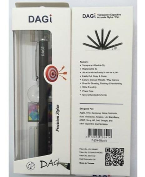 Caneta Capacitiva Dagi Touch Stylus P604 - Prata