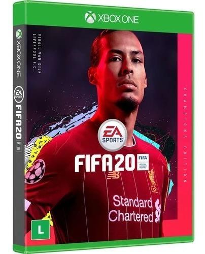 Fifa 20 Edição Dos Campeões Xbox One Mídia Física Português