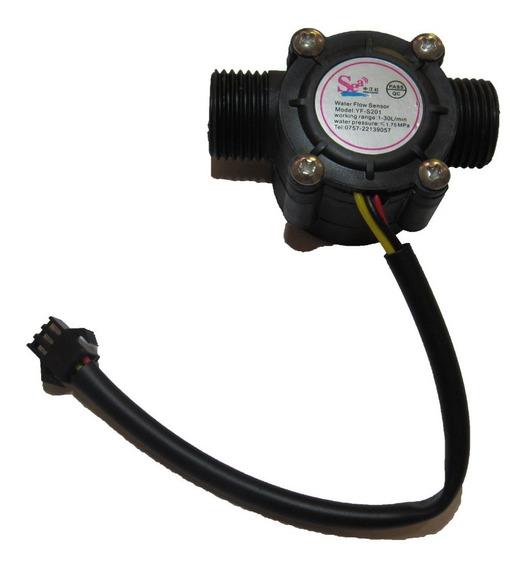 5 Peças Sensor De Fluxo/vazão Água 1/2 Yf-s201