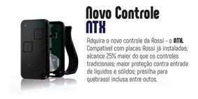 Controle Remoto Rossi Novo Modelo 433 Mhz Hcs