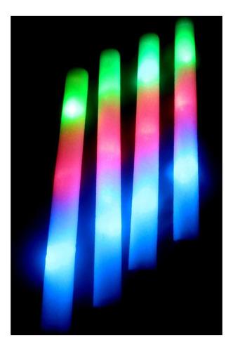 Imagen 1 de 2 de Cotillon Luminoso 100 Barras Rompecocos Espuma Led Tricolor