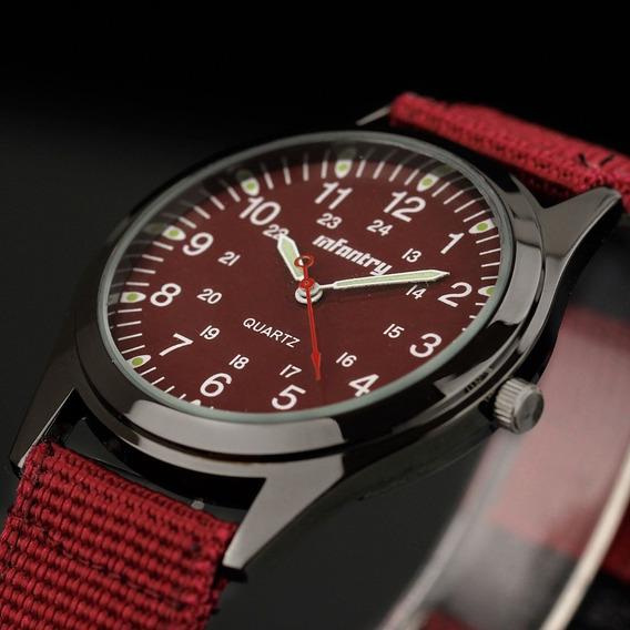 Relógio Infantry Quartz Lume Mão 12-24hrs Analógico - Color