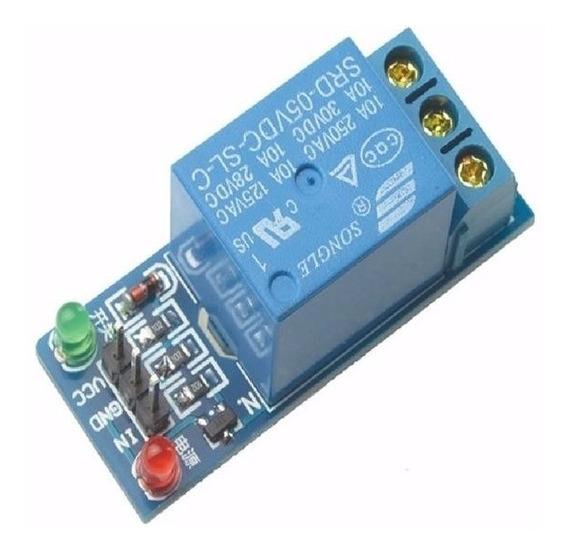 Shield Relé 1 Canal 5v Para Arduino