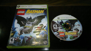 Lego Batman The Video Game Sin Inst Para Xbox 360,excelente
