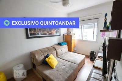 Apartamento No 7º Andar Mobiliado Com 1 Dormitório E 1 Garagem - Id: 892908603 - 208603