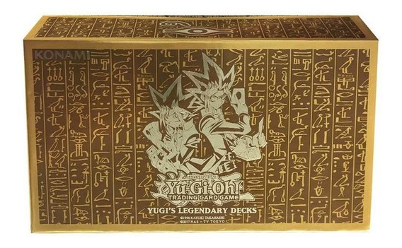 Caja Legendaria Yugioh Legendary Decks Original La Plata Ful