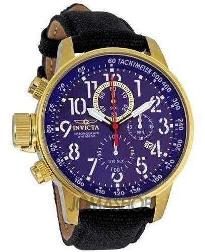 Relógio Invicta 1516 Force Original Banhado Ouro 18k
