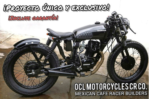 Imagen 1 de 8 de Moto Honda 125cc Cafe-bobber ¡en Stock! (custom/cafe Racer)