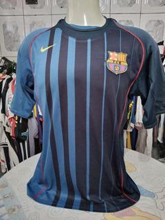 Camisa Da Total 90 Nike Do Barcelona 2004