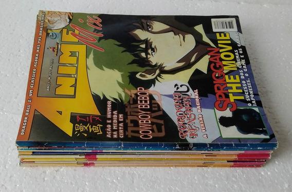 Revista Anime Mix (13 Unid) Ver Descrição