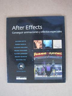 After Effects Conseguir Animaciones-efectos Espec. Cd Room